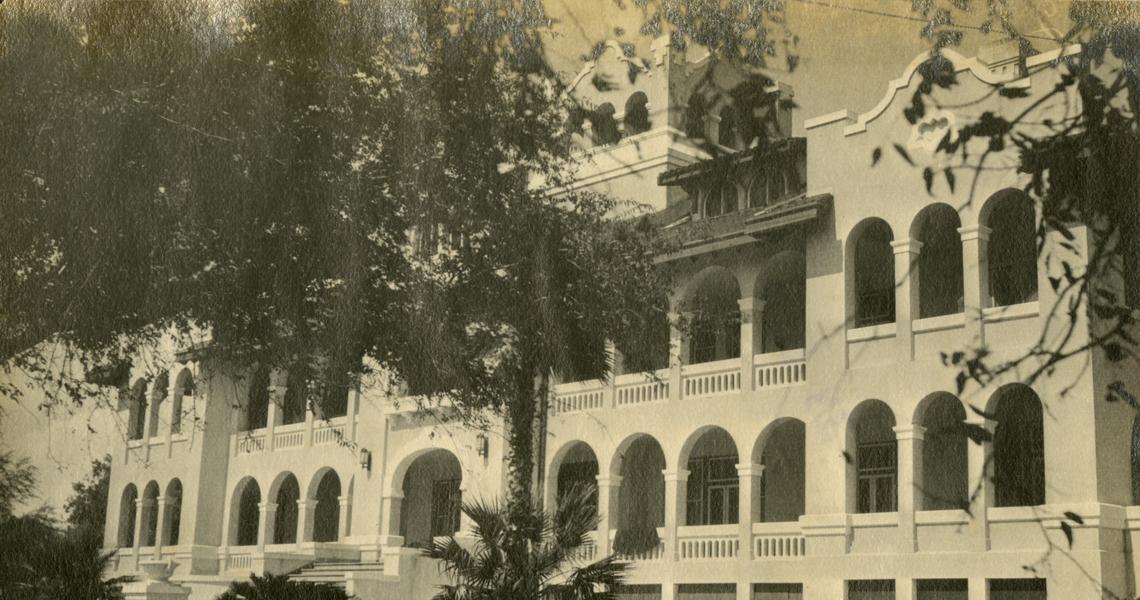 Kenedy house at La Parra.